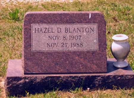 BLANTON, HAZEL D. - Lawrence County, Arkansas | HAZEL D. BLANTON - Arkansas Gravestone Photos