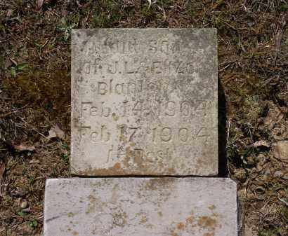 BLANTON, INFANT SON - Lawrence County, Arkansas | INFANT SON BLANTON - Arkansas Gravestone Photos
