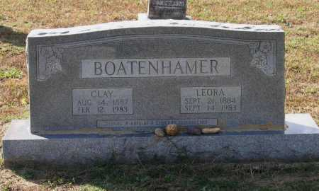 BOATENHAMMER, LEORA FRANCES - Lawrence County, Arkansas | LEORA FRANCES BOATENHAMMER - Arkansas Gravestone Photos