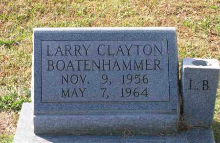 BOATENHAMMER, LARRY CLAYTON - Lawrence County, Arkansas | LARRY CLAYTON BOATENHAMMER - Arkansas Gravestone Photos