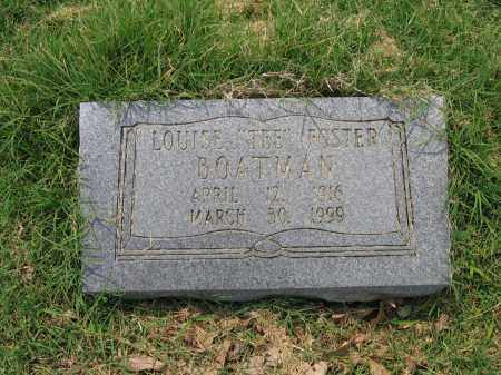 "BOATMAN, LOUISE ""TEE"" - Lawrence County, Arkansas 