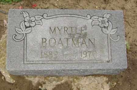 BOATMAN, MYRTLE GEORGIA - Lawrence County, Arkansas | MYRTLE GEORGIA BOATMAN - Arkansas Gravestone Photos