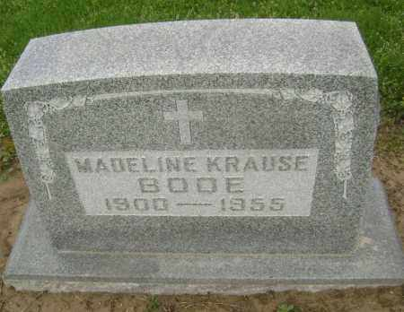 KRAUSE BODE, MADELINE - Lawrence County, Arkansas | MADELINE KRAUSE BODE - Arkansas Gravestone Photos