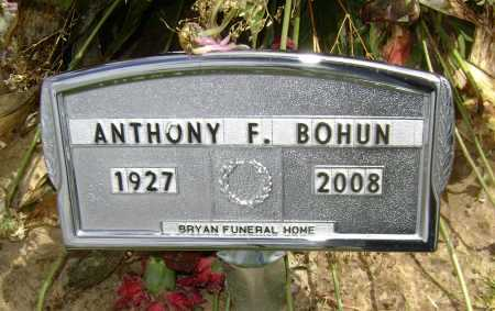 BOHUN (VETERAN 3 WARS), ANTHONY - Lawrence County, Arkansas | ANTHONY BOHUN (VETERAN 3 WARS) - Arkansas Gravestone Photos