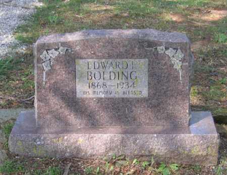 BOLDING, EDWARD F. - Lawrence County, Arkansas | EDWARD F. BOLDING - Arkansas Gravestone Photos