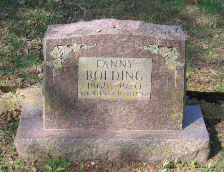 BOLDING, FANNY - Lawrence County, Arkansas | FANNY BOLDING - Arkansas Gravestone Photos