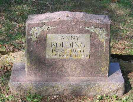 BOLDING, FANNY SMITH - Lawrence County, Arkansas | FANNY SMITH BOLDING - Arkansas Gravestone Photos