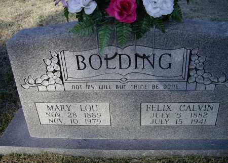 BOLDING, FELIX CALVIN - Lawrence County, Arkansas | FELIX CALVIN BOLDING - Arkansas Gravestone Photos