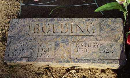 BOLDING, NOEL WESLEY - Lawrence County, Arkansas | NOEL WESLEY BOLDING - Arkansas Gravestone Photos