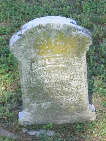 BOLT, EMLEY - Lawrence County, Arkansas | EMLEY BOLT - Arkansas Gravestone Photos