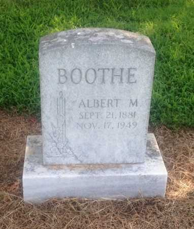 BOOTHE, ALBERT M. - Lawrence County, Arkansas | ALBERT M. BOOTHE - Arkansas Gravestone Photos