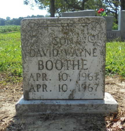 BOOTHE, DAVID WAYNE - Lawrence County, Arkansas   DAVID WAYNE BOOTHE - Arkansas Gravestone Photos