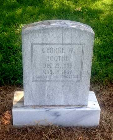 BOOTHE, GEORGE W. - Lawrence County, Arkansas | GEORGE W. BOOTHE - Arkansas Gravestone Photos