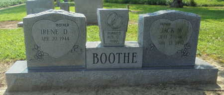 BOOTHE, JACK W. - Lawrence County, Arkansas | JACK W. BOOTHE - Arkansas Gravestone Photos