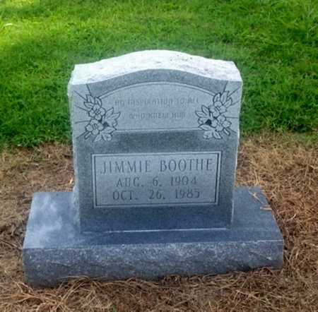 BOOTHE, JIMMIE - Lawrence County, Arkansas | JIMMIE BOOTHE - Arkansas Gravestone Photos