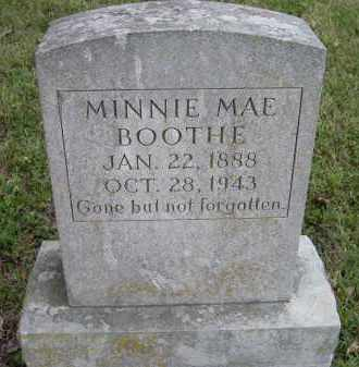 BOOTHE, MINNIE MAE - Lawrence County, Arkansas | MINNIE MAE BOOTHE - Arkansas Gravestone Photos
