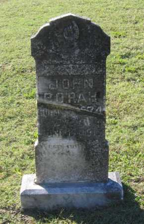 BORAH, JOHN N. - Lawrence County, Arkansas | JOHN N. BORAH - Arkansas Gravestone Photos