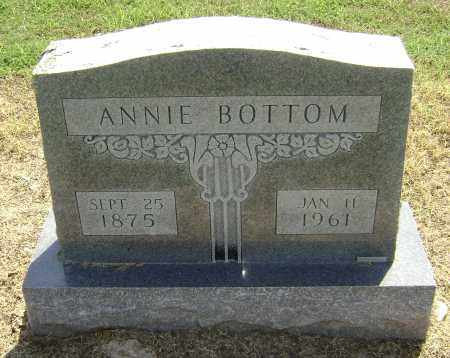 BOTTOM, ANNIE - Lawrence County, Arkansas | ANNIE BOTTOM - Arkansas Gravestone Photos