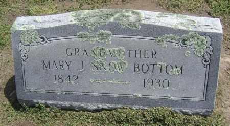 BOTTOM, MARY JANE - Lawrence County, Arkansas | MARY JANE BOTTOM - Arkansas Gravestone Photos