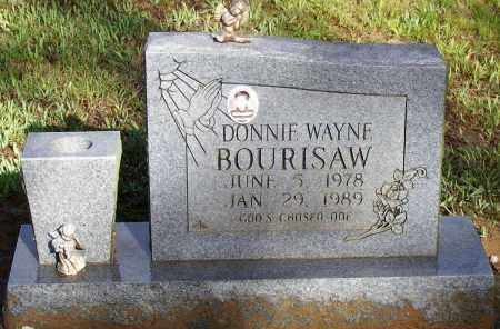 BOURISAW, DONNIE WAYNE - Lawrence County, Arkansas | DONNIE WAYNE BOURISAW - Arkansas Gravestone Photos