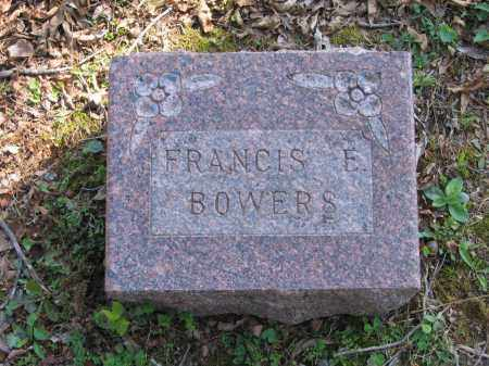 BOWERS, FRANCIS EVANNAH - Lawrence County, Arkansas | FRANCIS EVANNAH BOWERS - Arkansas Gravestone Photos