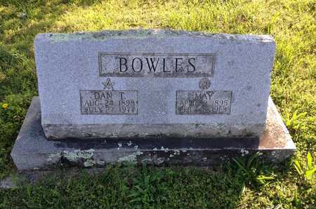"BOWLES, DANIEL THOMPSON ""DAN T."" - Lawrence County, Arkansas 
