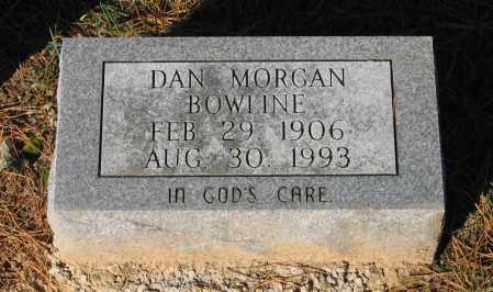 BOWLINE, DAN MORGAN - Lawrence County, Arkansas | DAN MORGAN BOWLINE - Arkansas Gravestone Photos
