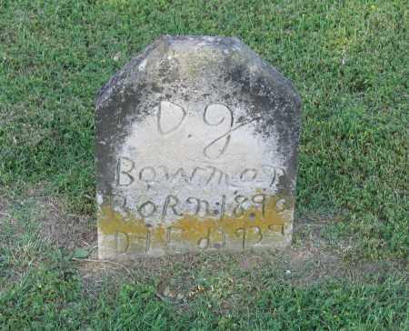 "BOWMAN, DAVID JACKSON ""D. J."" - Lawrence County, Arkansas | DAVID JACKSON ""D. J."" BOWMAN - Arkansas Gravestone Photos"