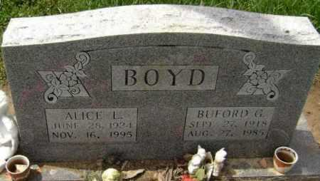 BOYD, ALICE LORENE - Lawrence County, Arkansas | ALICE LORENE BOYD - Arkansas Gravestone Photos