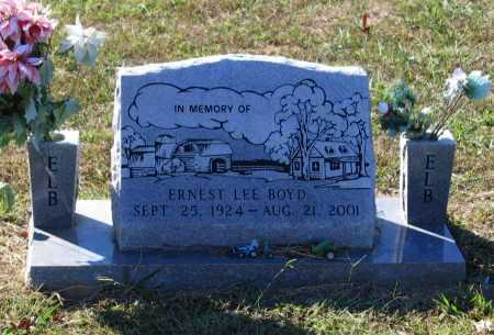 BOYD, ERNEST LEE - Lawrence County, Arkansas | ERNEST LEE BOYD - Arkansas Gravestone Photos