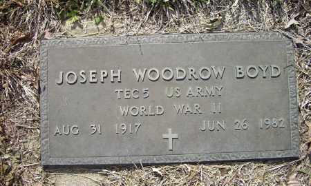 BOYD (VETERAN WWII), JOSEPH WOODROW - Lawrence County, Arkansas | JOSEPH WOODROW BOYD (VETERAN WWII) - Arkansas Gravestone Photos