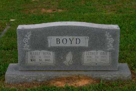 BOYD, LUTHER OBIE - Lawrence County, Arkansas | LUTHER OBIE BOYD - Arkansas Gravestone Photos
