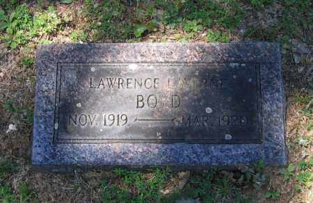BOYD, LAWRENCE LAVERNE - Lawrence County, Arkansas | LAWRENCE LAVERNE BOYD - Arkansas Gravestone Photos