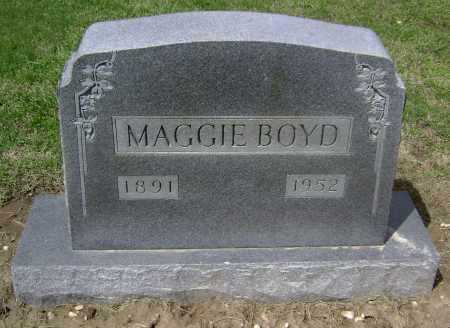 BOYD, MAGGIE - Lawrence County, Arkansas | MAGGIE BOYD - Arkansas Gravestone Photos