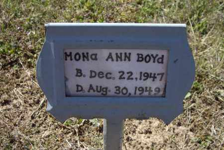 BOYD, MONA ANN - Lawrence County, Arkansas | MONA ANN BOYD - Arkansas Gravestone Photos