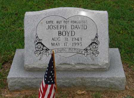 BOYD (VETERAN), JOSEPH DAVID - Lawrence County, Arkansas | JOSEPH DAVID BOYD (VETERAN) - Arkansas Gravestone Photos