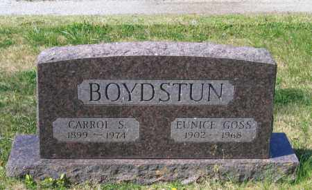 BOYDSTUN, CARROL S. - Lawrence County, Arkansas | CARROL S. BOYDSTUN - Arkansas Gravestone Photos
