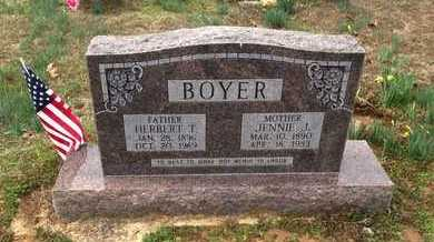 BOYER, HERBERT THURMAN - Lawrence County, Arkansas | HERBERT THURMAN BOYER - Arkansas Gravestone Photos