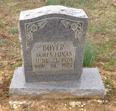 BOYER, JAMES LONAS - Lawrence County, Arkansas   JAMES LONAS BOYER - Arkansas Gravestone Photos