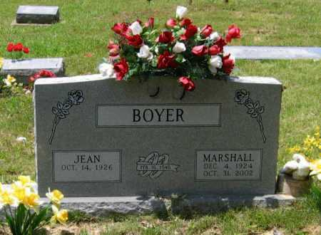 BOYER, MARSHALL UTAH - Lawrence County, Arkansas | MARSHALL UTAH BOYER - Arkansas Gravestone Photos