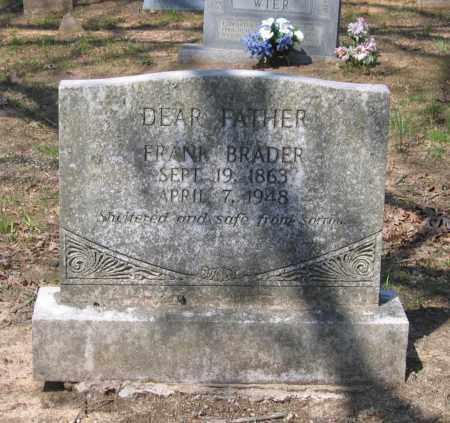 BRADER, FRANK - Lawrence County, Arkansas | FRANK BRADER - Arkansas Gravestone Photos