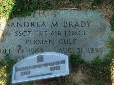 BRADY (VETERAN PGW), ANDREA MICHELLE - Lawrence County, Arkansas | ANDREA MICHELLE BRADY (VETERAN PGW) - Arkansas Gravestone Photos