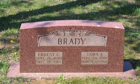 BRADY, ERNEST CECIL - Lawrence County, Arkansas | ERNEST CECIL BRADY - Arkansas Gravestone Photos