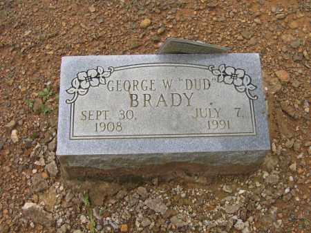 "BRADY, GEORGE WYMER ""DUD"" - Lawrence County, Arkansas 