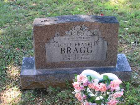 BRAGG, CLOYCE FRANKLIN - Lawrence County, Arkansas | CLOYCE FRANKLIN BRAGG - Arkansas Gravestone Photos