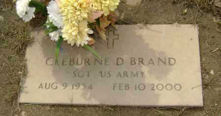 BRAND (VETERAN), CLEBURNE D - Lawrence County, Arkansas | CLEBURNE D BRAND (VETERAN) - Arkansas Gravestone Photos