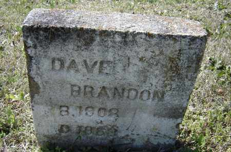BRANDON, DAVE - Lawrence County, Arkansas | DAVE BRANDON - Arkansas Gravestone Photos