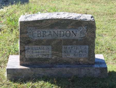 BRANDON, WILLIAM NATHANIEL - Lawrence County, Arkansas | WILLIAM NATHANIEL BRANDON - Arkansas Gravestone Photos