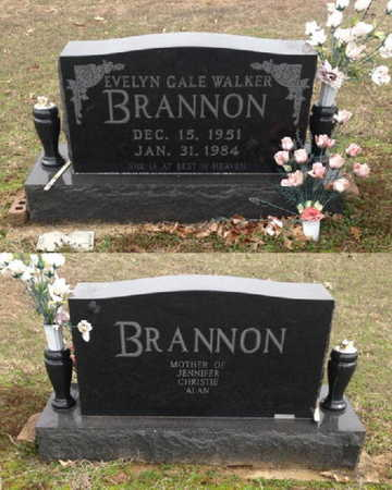 BRANNON, EVELYN GALE - Lawrence County, Arkansas | EVELYN GALE BRANNON - Arkansas Gravestone Photos