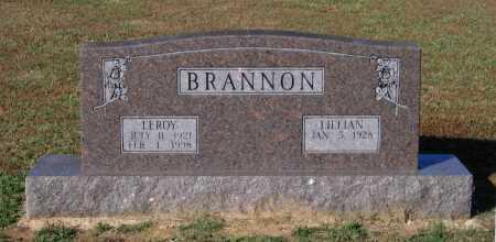 BRANNON, LEROY - Lawrence County, Arkansas | LEROY BRANNON - Arkansas Gravestone Photos